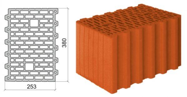 3802 1 600x313 - керамический блок Поромакс-380
