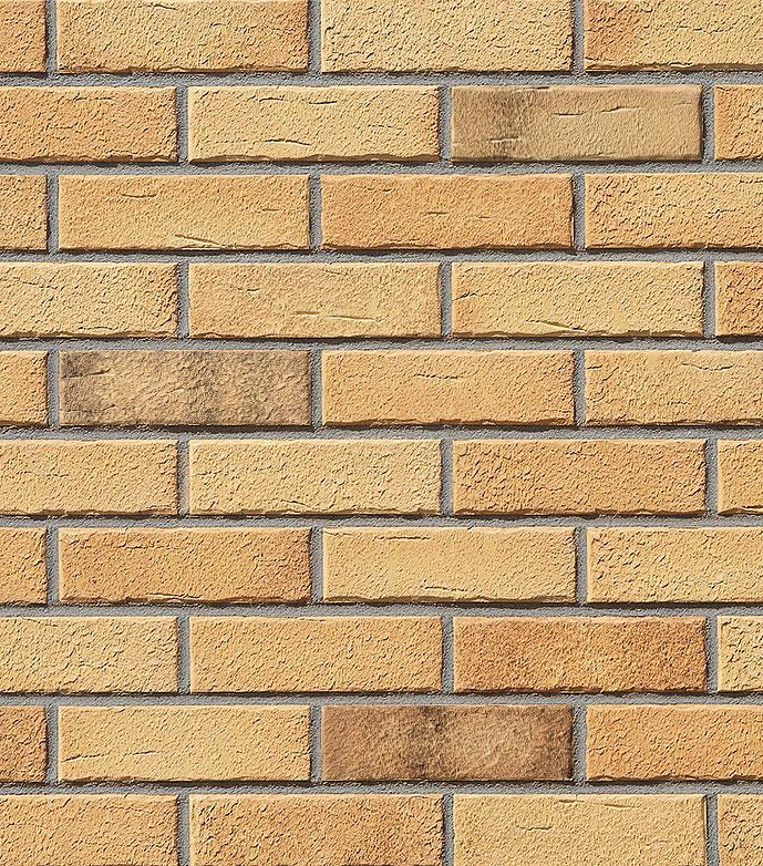 клинкерная плитка Aarhus gelb-bunt carbon