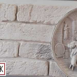 Гипсовый декоративный кирпич Маррокко