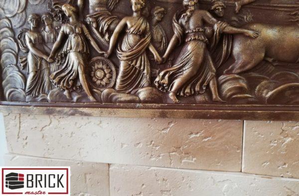 Гипсовый декоративный камень Колизей