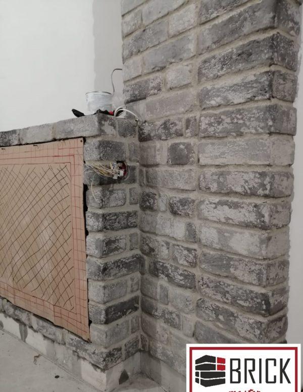 Плитка под кирпич в стиле лофт Сура с высолами