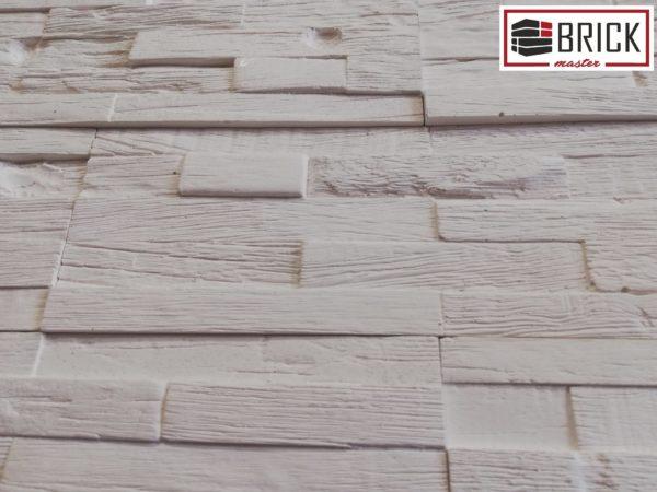 Гипсовый декоративный камень Деревянная мозаика