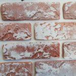 Гипсовый декоративный кирпич Песчаник с высолами