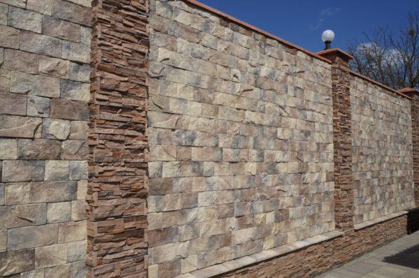 Искусственный камень Старая крепость 6403