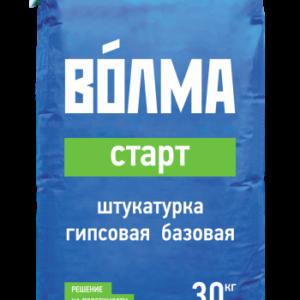 базовая гипсовая штукатурка ВОЛМА-Старт