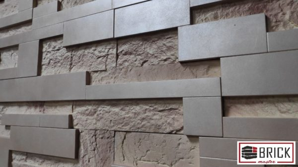 Дизайнерский гипсовый камень Flat Stone